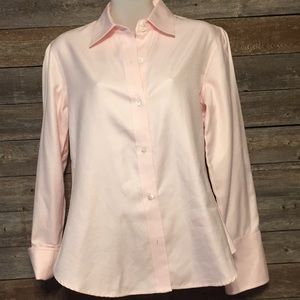 Banana republic pink button down